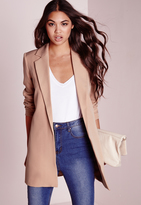 missguided-tall-longline-blazer-nude